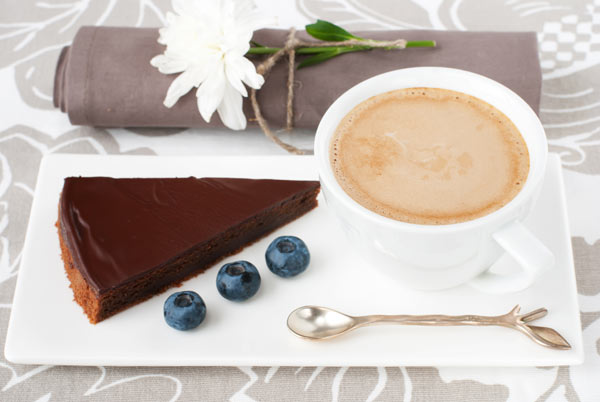 Latte and Chocolate Torte.