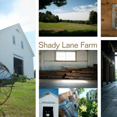 Our other new barn location in New Gloucester, Shady Lane Farm An antique barn that holds 200, and acres of beautiful grounds!