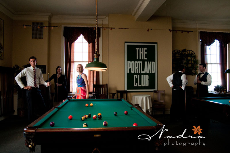 The Pool Room. Twelve Antique Billiard And Pool Tables. Nadra Photography.